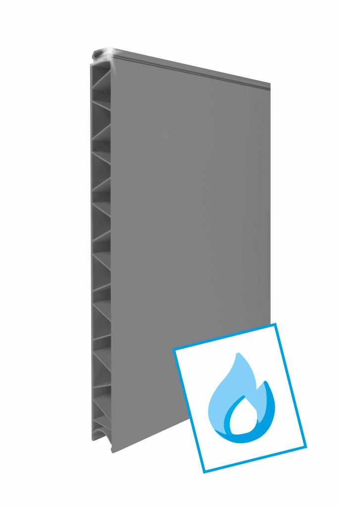 Cleanpanel FR Grijs 400mm