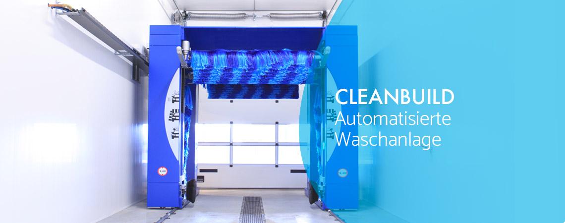 Automatisierte Waschanlage