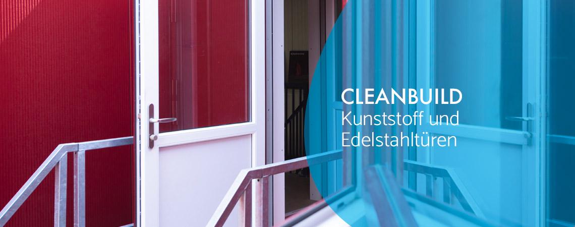 Cleanbuild Kunststofftüren