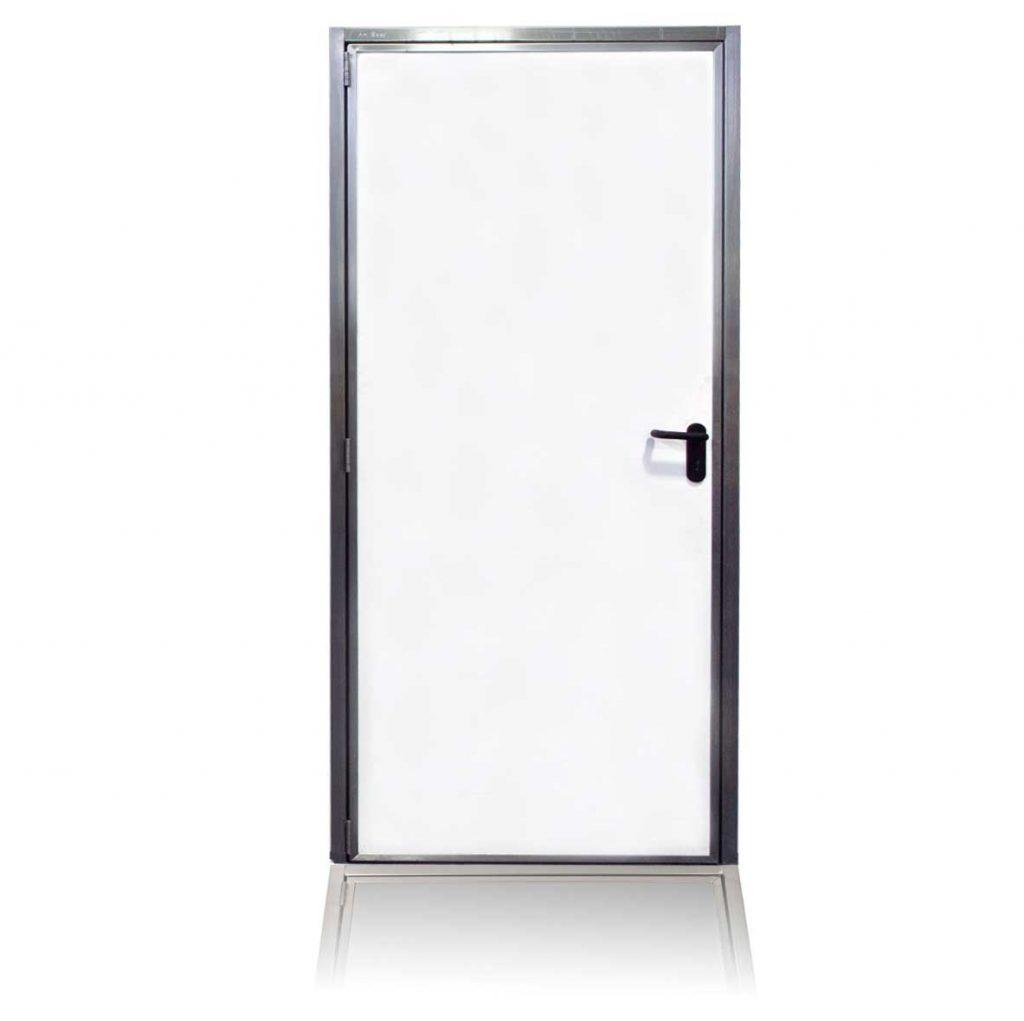 Cleandoor Edelstahltür